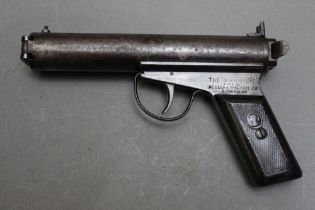 * The Warrior made by Accles & Shelvoke Ltd Birmingham, cal 177 air pistol,