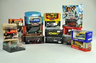 An interesting larger group of diecast from various makers including Corgi, Matchbox and others.