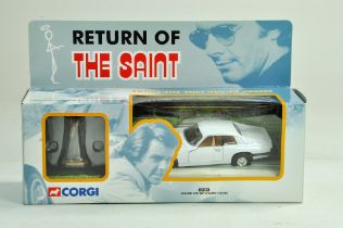 Corgi diecast issue comprising No. 57404 Jaguar XJS from Return of the Saint. Excellent in Box.