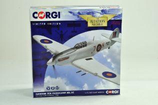 Corgi Diecast Model Aircraft comprising 1/72 No. AA39703 Hawker Sea Hurricane MKIIC. Appears