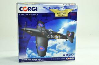 Corgi Diecast Model Aircraft comprising 1/72 No. AA39304 Boulton Paul Defiant MK1. Appears