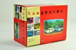 Vanguards 1/43 Limited Edition Ford Anglia and Hillman Imp Racing Diorama Set. Excellent with box.