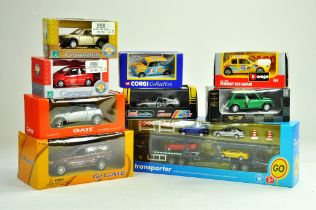 A group of diecast issues comprising Corgi, Gate, Cararama and others including Tesco Car