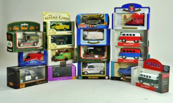 A group of diecast comprising various makers, Lledo, Oxford and others. Excellent in boxes.