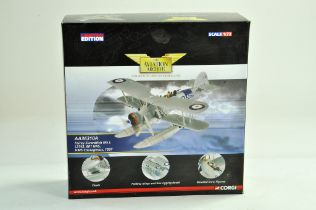 Corgi Diecast Model Aircraft comprising 1/72 No AA36310A Fairey Swordfish MKI. Appears complete with