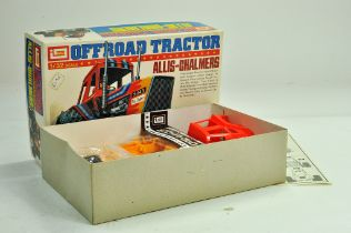 IMAI 1/32 plastic model kit comprising Allis Chalmers 7045 Tractor. Complete with box. Scarce.