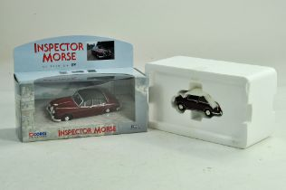 Corgi 1/43 diecast Inspector Morse Promotional issue plus one other. Excellent.