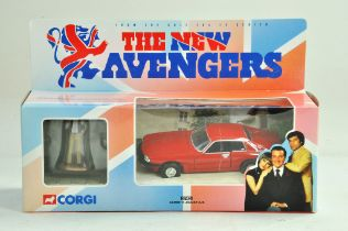 Corgi diecast issue comprising No. 57405 Gambit's Jaguar XJS from the New Avengers. Excellent in