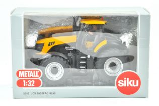 Siku 1/32 Farm issue comprising JCB Fastrac 8250 Tractor. Limited Edition. Previously on display,
