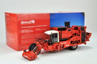ROS 1/32 Farm issue comprising Dewulf RA3060 2 Row Self Propelled Potato Harvester. Whilst