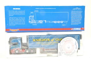 Corgi 1/50 Diecast Truck issue comprising No. CC13706 Scania R Series Curtainside in the livery of