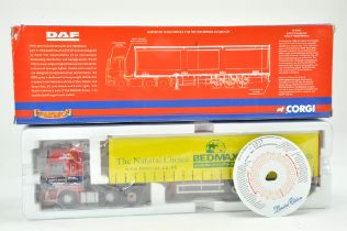 Corgi 1/50 Diecast Truck issue comprising No. CC13612 DAF CF Curtainside in the livery of James