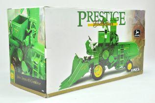 Ertl 1/16 farm issue comprising John Deere 45 Combine. Prestige Series. Impressive Model appears