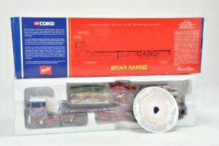 Corgi 1/50 Diecast Truck issue comprising No. CC11910 ERF EC Crane Trailer with Crushed Car Load