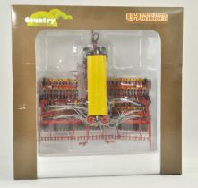Universal Hobbies 1/32 Farm issue comprising Vaderstad Rapide Seed Drill. Previously on display, the