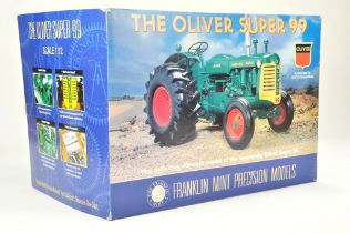 Franklin Mint 1/12 Farm issue comprising Oliver Super 99 Tractor. Precision Detail. Model is