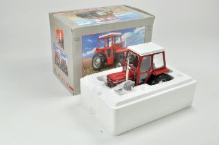 Universal Hobbies 1/16 Farm issue comprising Massey Ferguson 135 Tractor with Cab. Model appears