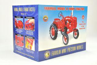 Franklin Mint 1/12 Farm issue comprising Farmall Model A Tractor. Precision Detail. Model is