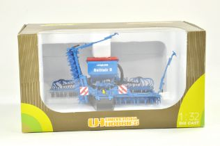 Universal Hobbies 1/32 Farm issue comprising Lemken Solitair Drill. Previously on display, the model