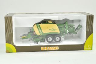 Universal Hobbies 1/32 Farm issue comprising Krone Big Pack Baler. Previously on display, the
