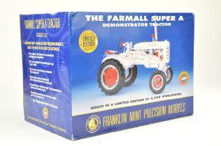 Franklin Mint 1/12 Farm issue comprising Farmall Super A Demonstration Tractor. Precision Detail.
