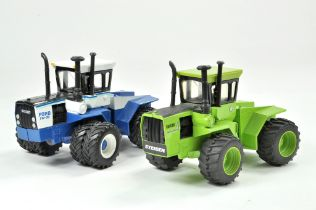 Britains 1/32 Farm issue comprising Ford FW30 Tractor on Duals plus Steiger Cougar. Previously on