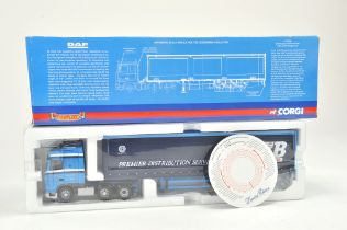 Corgi 1/50 Diecast Truck issue comprising No. CC13228 DAF XF Curtainside in the livery of ARR Craib.