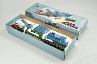 Corgi 1/50 Diecast Truck issue comprising No. CC12002 MAN King Trailer with Load in the livery of