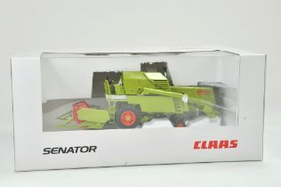 Norev 1/32 Farm issue comprising Claas Senator Combine Harvester. Whilst previously on display,