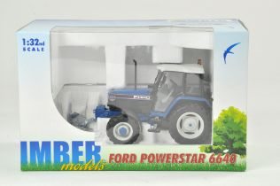 ROS 1/32 Farm issue comprising Ford 6640 SLE 4WD Tractor. Limited Edition for Imber Models.