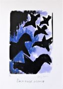JOSEF HERMAN R.A. [1911-2000]. Each Page Aspace, 1999. lithograh, 5/50; signed in pencil. 30 x 21 cm