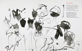 WILLIAM JOHNSTONE [1897-1981]. Abstract [The Confirmation], 1981. lithograph, 22/50. Signed in