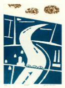 JULIAN TREVELYAN RA [1910-1988] - Holland, 1975. etching and aquatint
