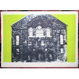 JOHN PIPER CH [1903-1992]. Crug Glas, Swansea, 1966. Lithograph on handmade Barcham Green paper.