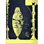 GRAHAM SUTHERLAND [1903-80]. Standing Forms [Yellow], 1979. lithograph, edition of 40 [proof] signed