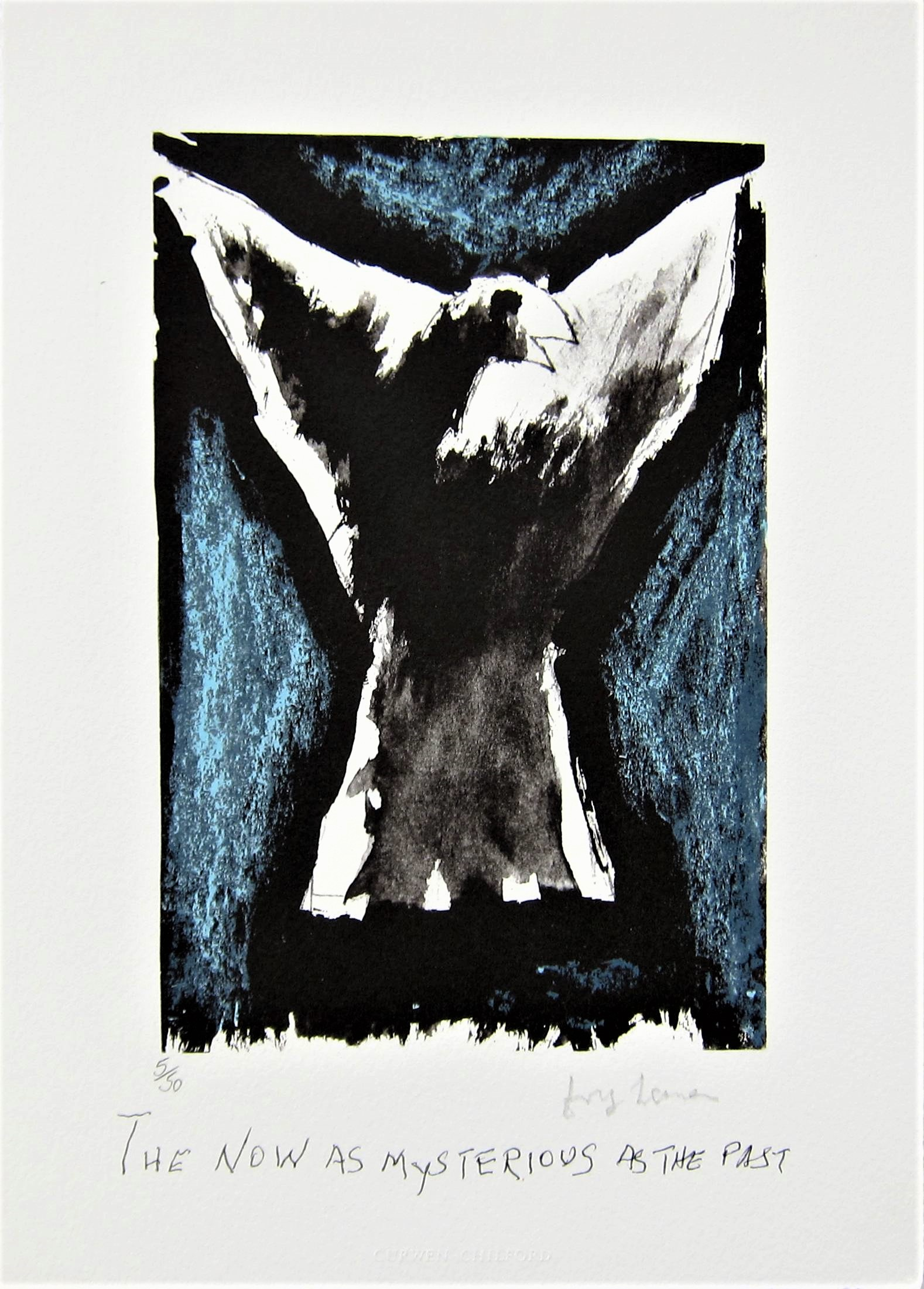 JOSEF HERMAN, R.A. [1911-2000]. Bird [Objects.], 1999. lithograph, edition of 50; 5/50 - signed in - Image 2 of 2