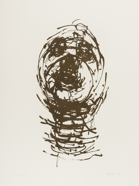 OLIFFE RICHMOND [1919-1977]. Pilot; Marathon; Standing Group, 1966. The set of three lithographs, - Image 3 of 3