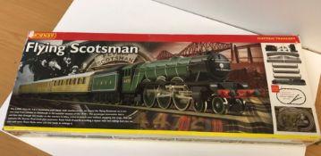 A Hornby Flying Scotsman electric train set, 00 gauge R1019,