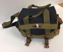 A cased Minolta 16 MG camera with accessories, flash, etc,