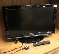 A Panasonic Viera television, Model No.