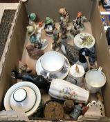 "A collection of nine Goebel Hummel figures, including ""The Goat Herd"", ""Hunter with Rabbit"","