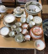 A collection of various china wares to i