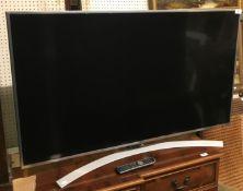 An LG colour television Model No. 49UH77