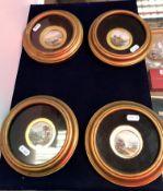 A set of four 19th Century Derby Stevens