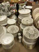 """A large collection of Noritake """"Golden C"""
