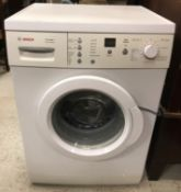 A Bosch Classixx 7 Vario Perfect washing machine CONDITION REPORTS Plastic on the