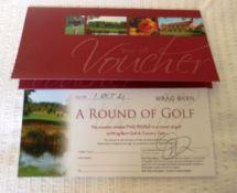 A round of golf for 2 at Wrag Barn Golf Club, Highworth, near Swindon.