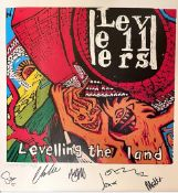 Hand printed silk screen print of the LTL album cover,