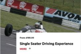 A Castle Combe Race Circuit Single Seater Driving Experience You receive a full safety briefing,