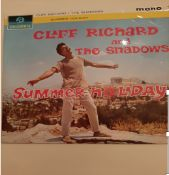 Three Boxes of an eclectic mix of 90 old LPs and singles, Pop, Classical, Easy Listening,